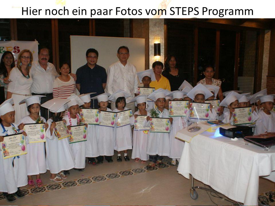 Hier noch ein paar Fotos vom STEPS Programm