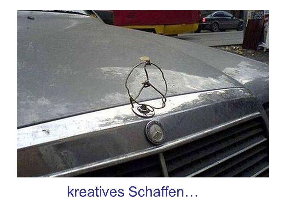 kreatives Schaffen…