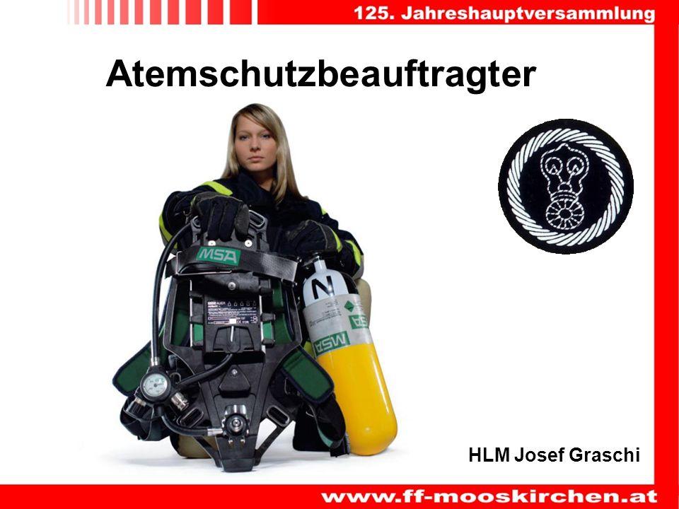 Atemschutzbeauftragter HLM Josef Graschi