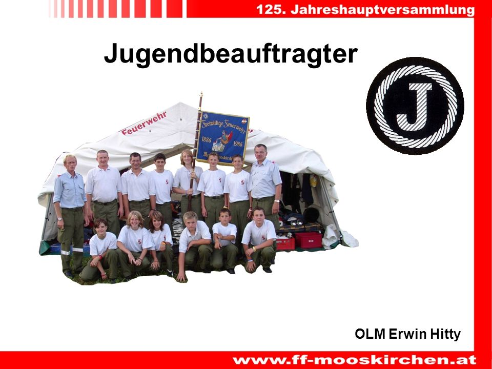 OLM Erwin Hitty Jugendbeauftragter