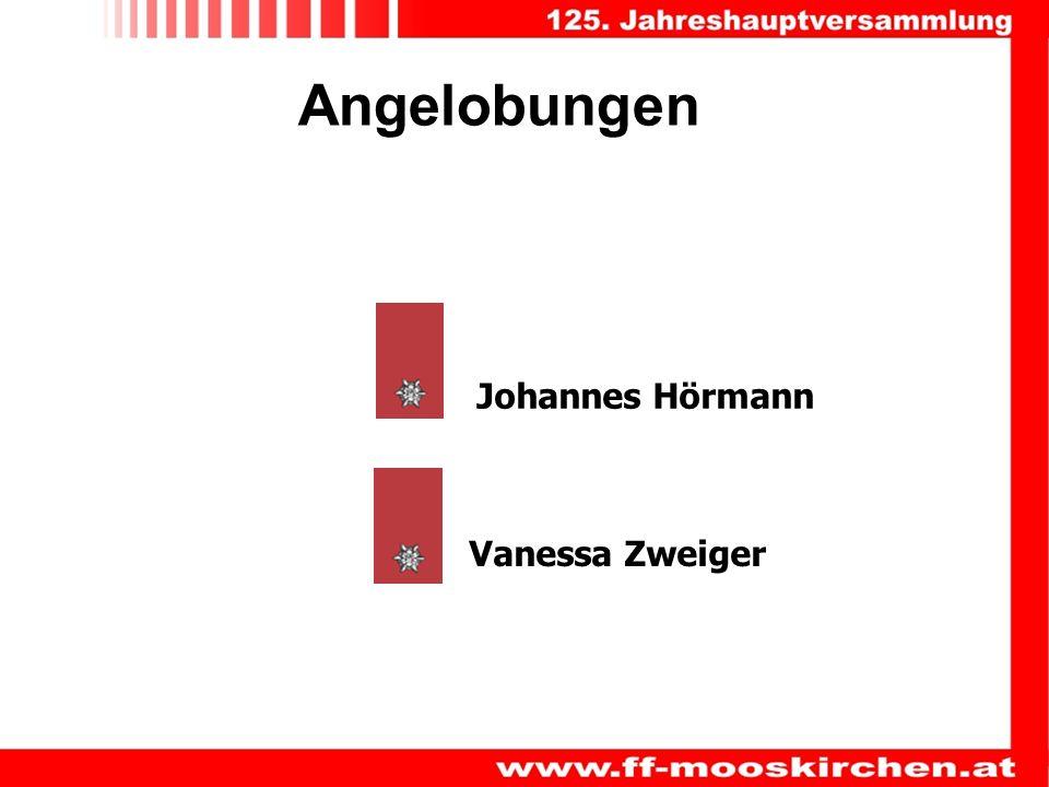Angelobungen Vanessa Zweiger Johannes Hörmann