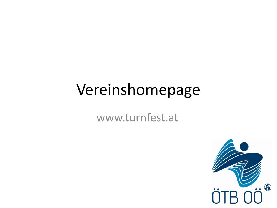 Vereinshomepage www.turnfest.at