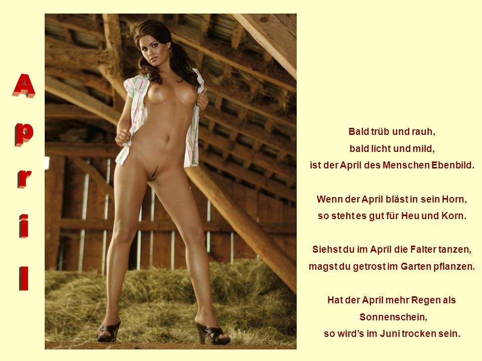 Dem Golde gleich ist Märzenstaub bringt uns Korn, Gras und Laub. März in der Blume, Sommer im Tau, trocken die Felder und dörren die Au. Wenn der März