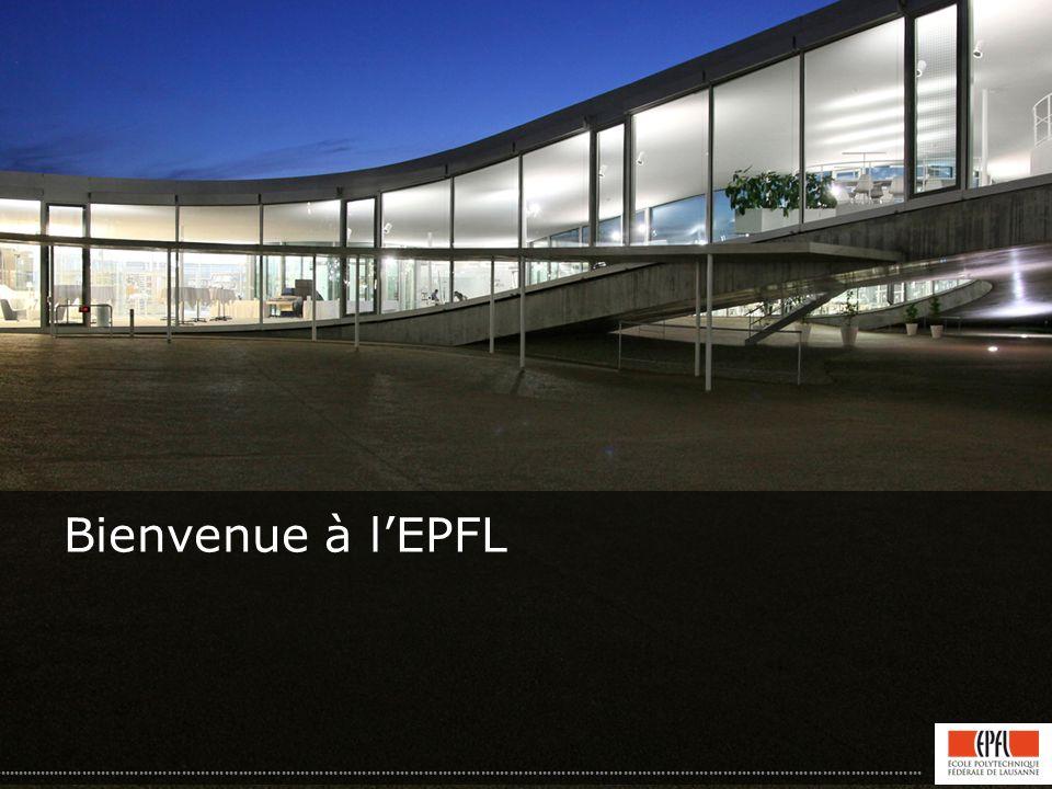 Bienvenue à lEPFL