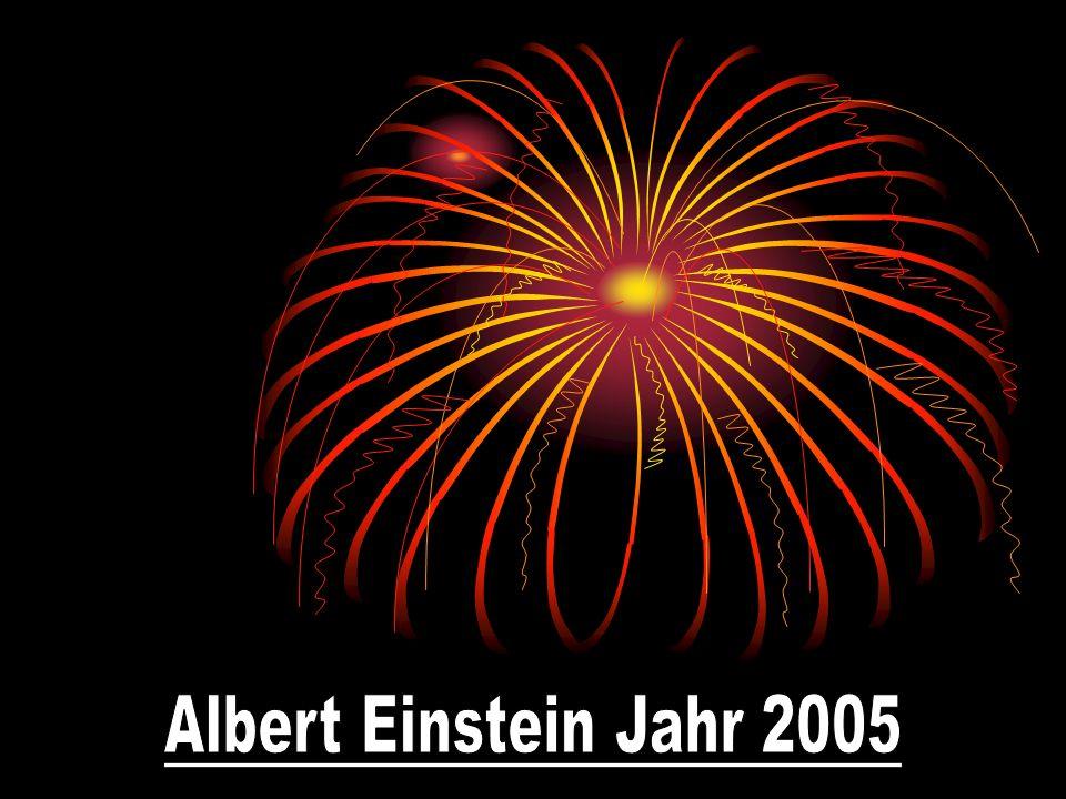 Die Darstellung Einsteins in den Medien im Jahr 2005 Albert Einstein, geboren am 14.