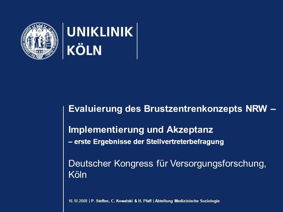 16.10.2008 | P. Steffen, C. Kowalski & H.