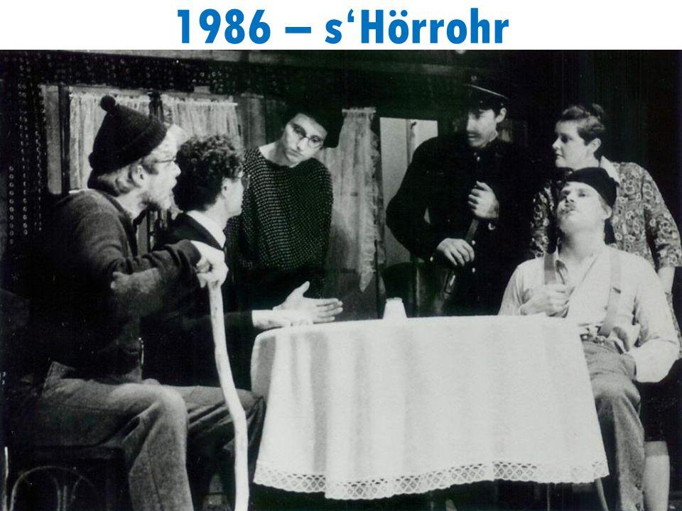1986 – sHörrohr