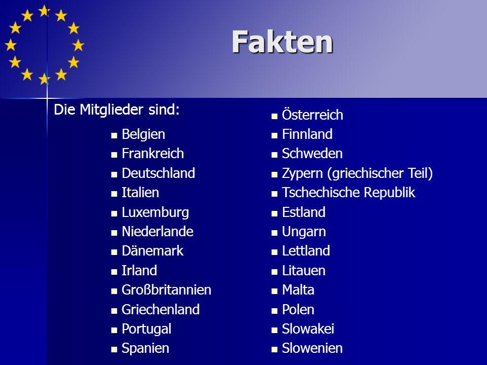 Legale Geschichte/Zukunft Das europäische Politikzentrum (EPC) geht davon aus, dass im Jahr 2009 beitreten: Norwegen Island Kroatien