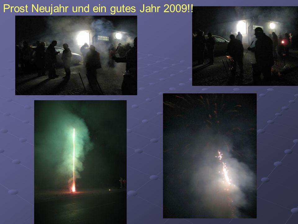 Prost Neujahr und ein gutes Jahr 2009!!
