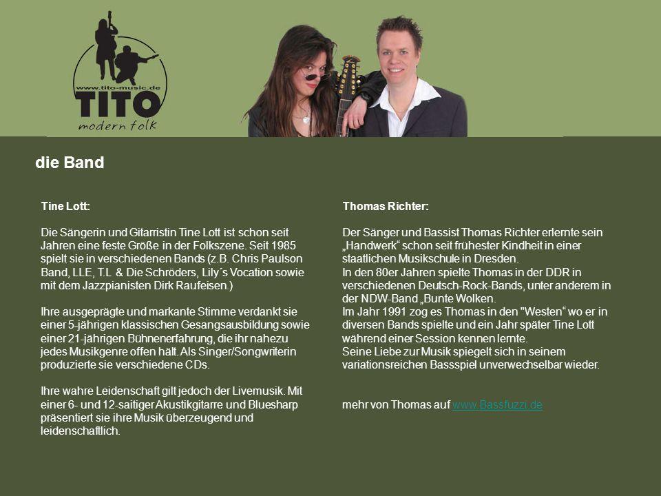 Tine Lott: Die Sängerin und Gitarristin Tine Lott ist schon seit Jahren eine feste Größe in der Folkszene.