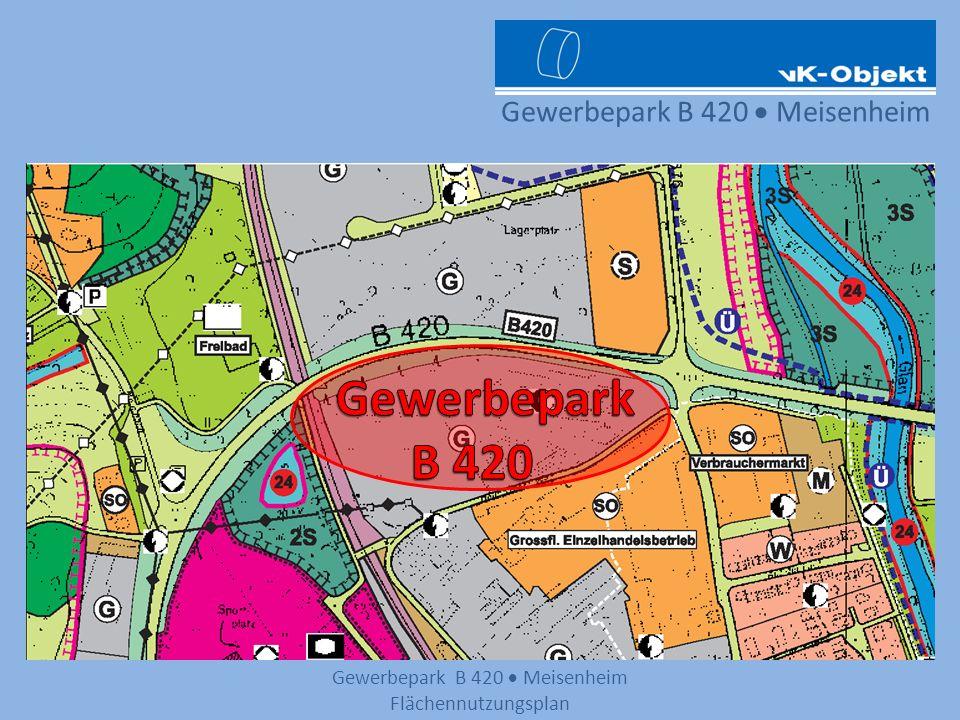 Gewerbepark B 420 Meisenheim Lageplan und einige der weiteren Gewerbeansiedlungen Möbel Martin NettoGetränkemarktAldi EDEKA Neukauf Gewerbepark B 420 Schwimmbad div.