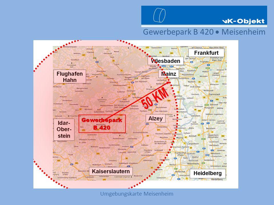 Gewerbepark B 420 Meisenheim Umgebungskarte Meisenheim