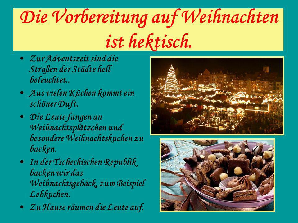 Weihnachtsgebäck Zum traditionellen Weihnachtsfest gehören nicht nur der Weihnachtsbaum und die Weihnachtslieder, sondern auch die Süßigkeiten.