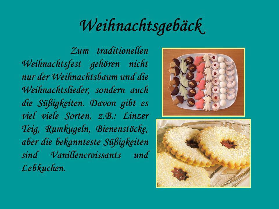 Pfefferkuchen Wir brauchen: - feines Mehl: 600 Gramm - Zucker: 200 Gramm - Honig: 150 Gramm - Butter: 130 Gramm - 2 Eier - Gewürz für Pfefferkuchen - Vanillezucker - ½ Backpulver