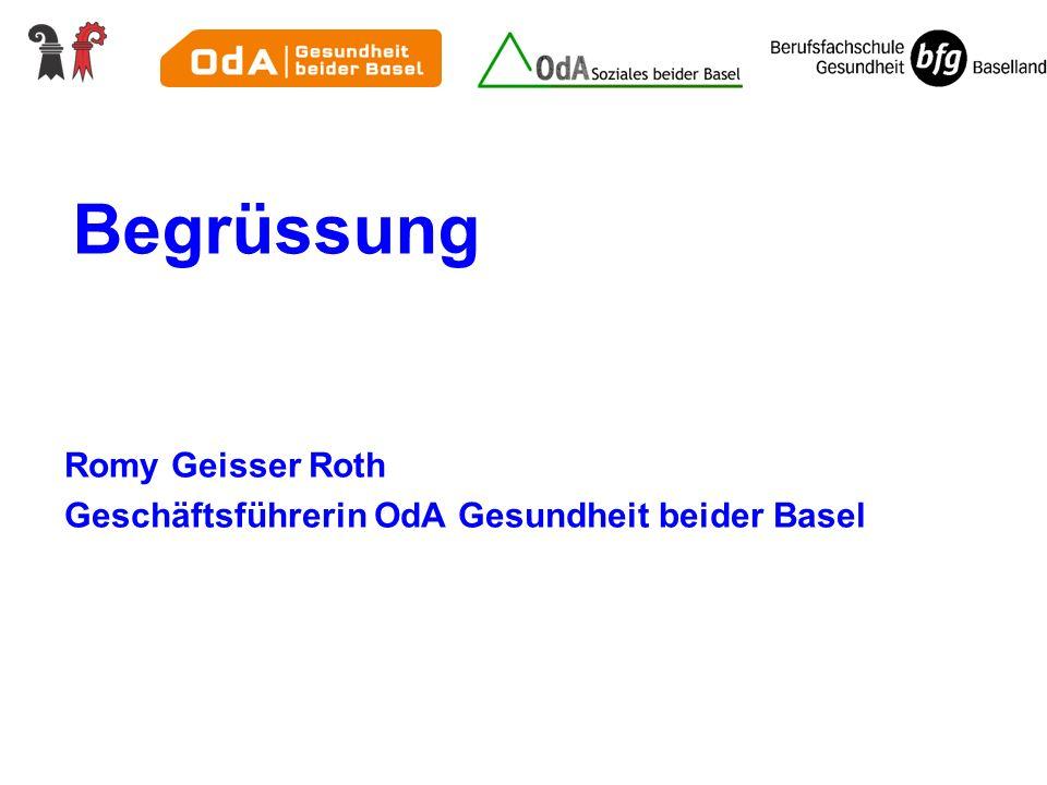 Vernetzung der Lernorte Betriebliche Bildungsplanung Dieter Hemmer, Abteilungsleiter BfG Sonja Gantenbein, ÜK-Koordinatorin Judith Weiche, Chefexpertin AGS
