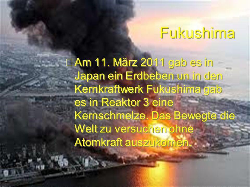 Weltbewegendeereignisse 1. Fukushima 2. Proteste Ägypten 3.