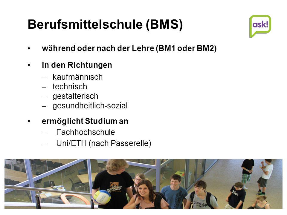 14 | Beratungsdienste für Ausbildung und Beruf AG Studien- und Laufbahnberatung | | © Beratungsdienste für Ausbildung und Beruf Aargau ein Studium an