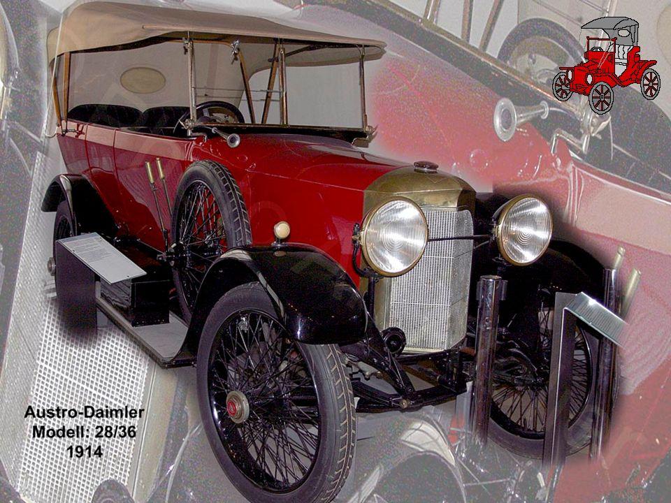 Mercedes Simplex - Tourer 1911