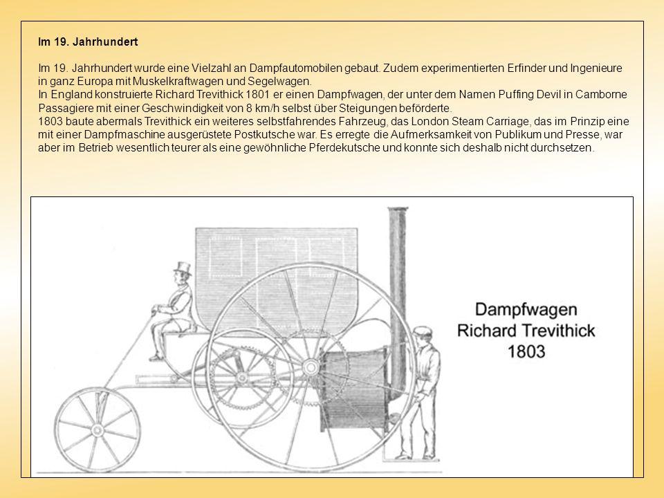 1674 konstruierte der niederländische Physiker Christiaan Huygens (1629–1695) eine Kolbenmaschine mit Pulverantrieb. Er gilt damit als Pionier des Ver