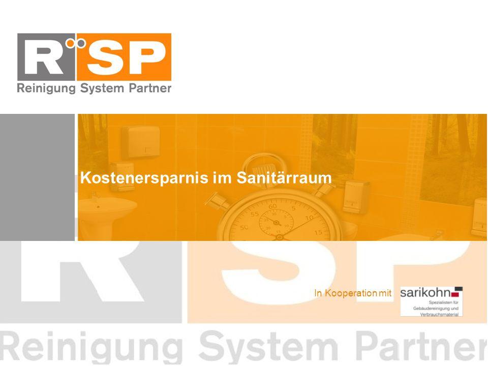 Kostenersparnis im Sanitärraum In Kooperation mit