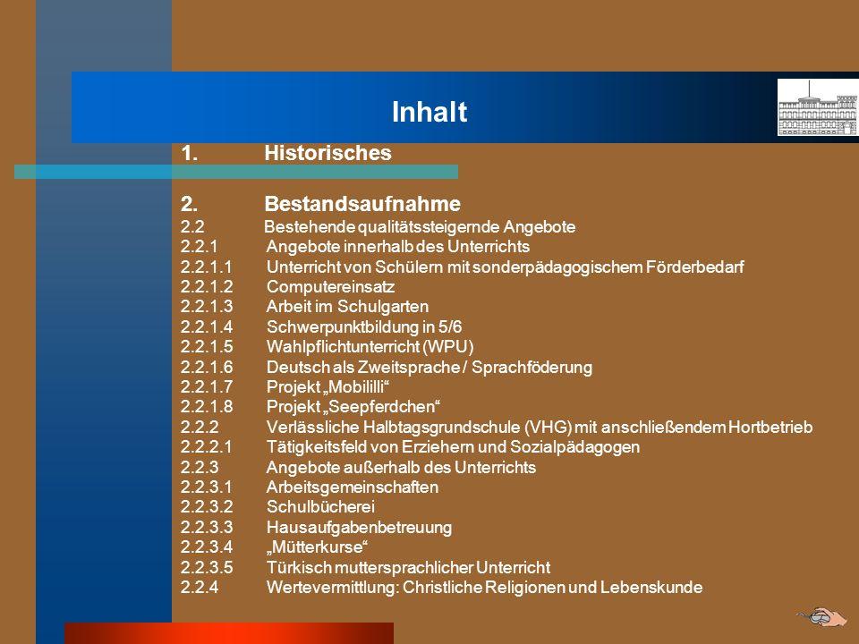 Inhalt 3.Leitbild 3.1 Entstehung des Leitbildes 3.2 Das Leitbild der Zürich-Schule 4.