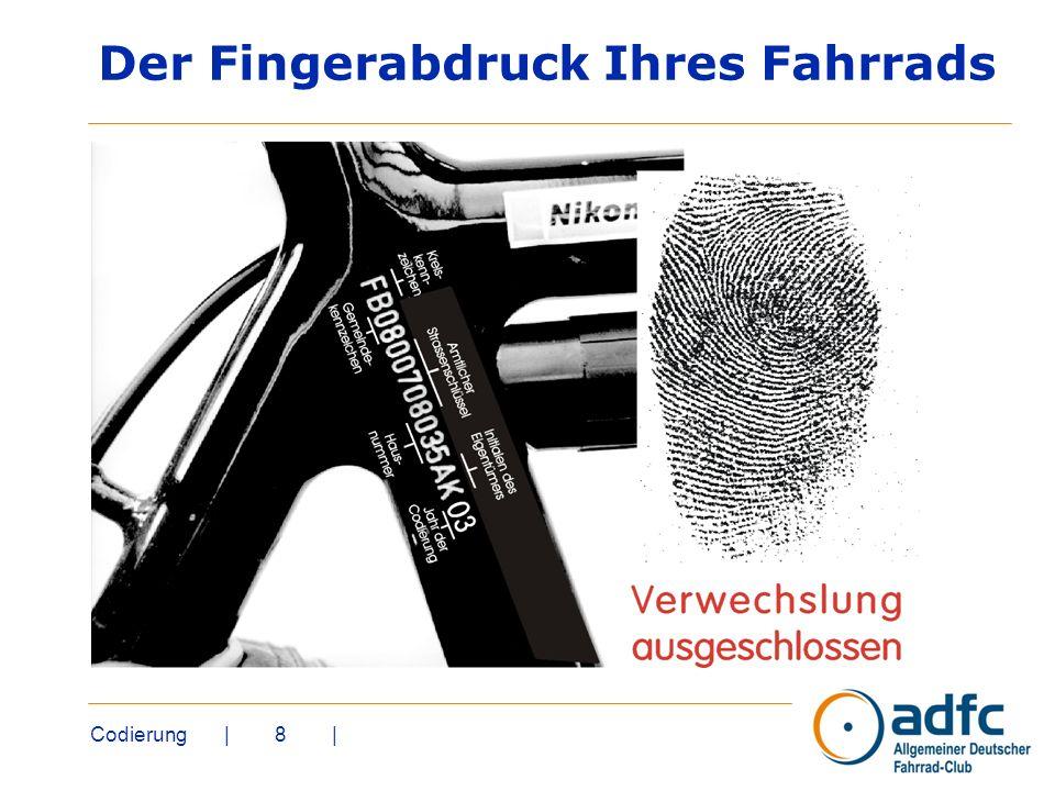 Codierung | 8 | Der Fingerabdruck Ihres Fahrrads