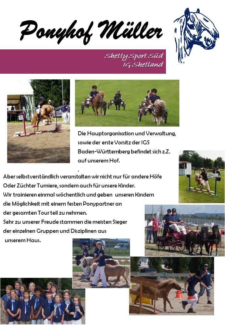 Shetty Sport Süd IG Shetland Aber selbstverständlich veranstalten wir nicht nur für andere Höfe Oder Züchter Turniere, sondern auch für unsere Kinder.