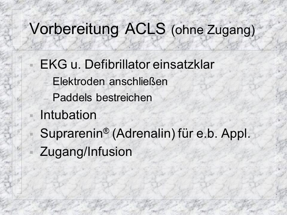 Vorbereitung Intubation Bild: ANR Cuff testen ! (nach Intubation Erw.:5 Rhythmus möglich) (ANR)