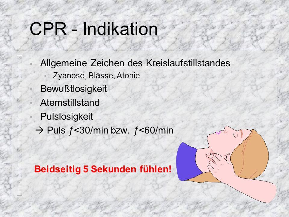 Keine CPR Eigenschutz nicht gewährleistet sichere Todeszeichen Großschadensereignis mit Patienten höherer Priorität Arzt stellt den Tod fest
