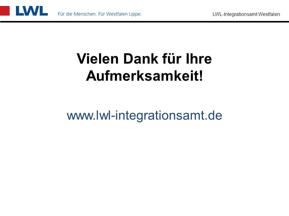 LWL-Integrationsamt Westfalen Prämien und Zuschüsse zu den Kosten der Berufsausbildung Einstellung zur Berufsausbildung von jungen Erwachsenen oder be