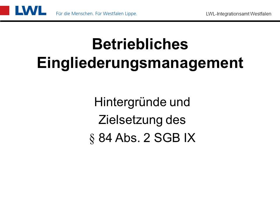 LWL-Integrationsamt Westfalen Prävention Prävention ist die Summe aller Maßnahmen um –Arbeitsunfälle, –Berufskrankheit und –arbeitsplatzbezogene Gesun
