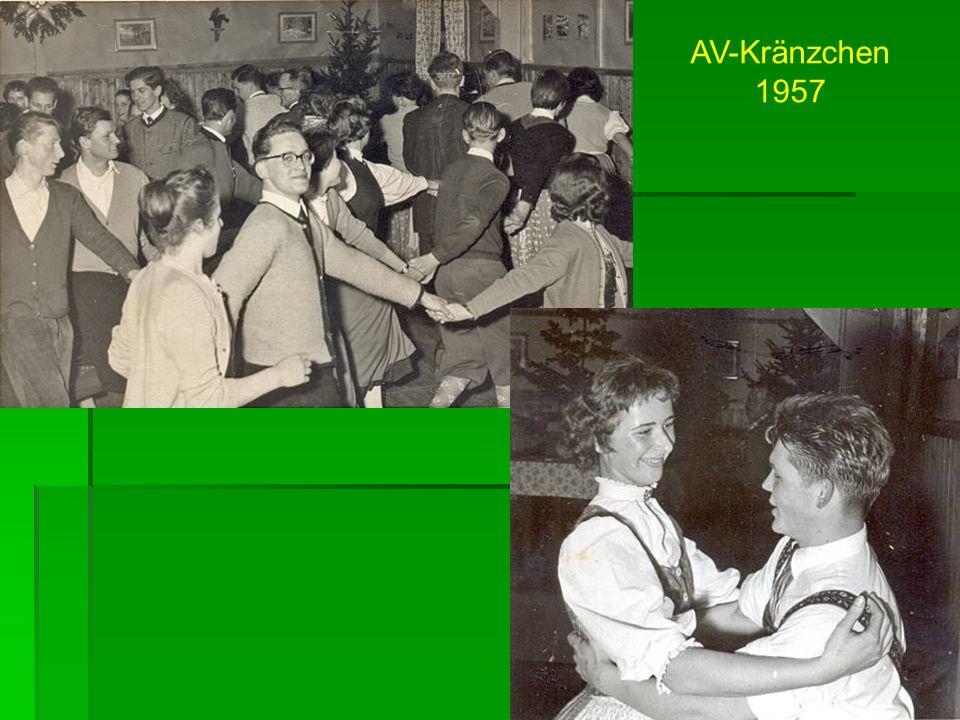 AV-Kränzchen 1957