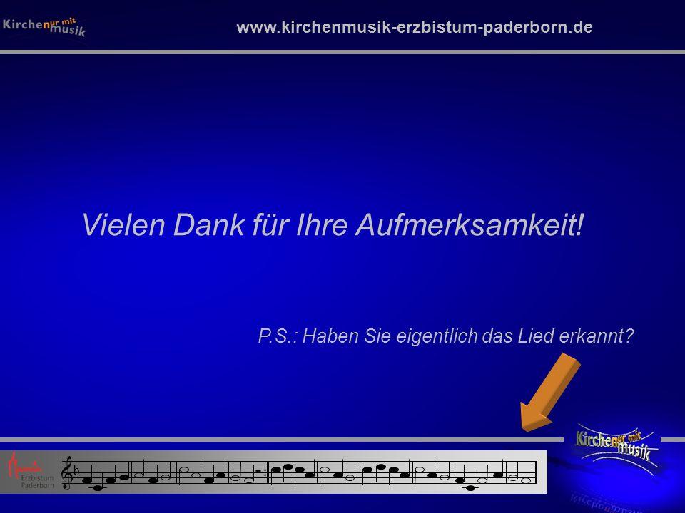 www.kirchenmusik-erzbistum-paderborn.de Vielen Dank für Ihre Aufmerksamkeit.