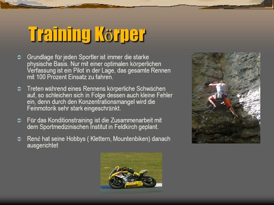 Training K ö rper Grundlage f ü r jeden Sportler ist immer die starke physische Basis.