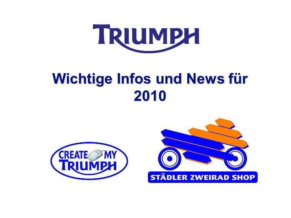 Wichtige Infos und News für 2010