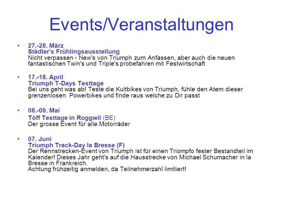 Events/Veranstaltungen 27.-28.