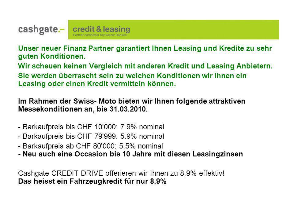 Unser neuer Finanz Partner garantiert Ihnen Leasing und Kredite zu sehr guten Konditionen.