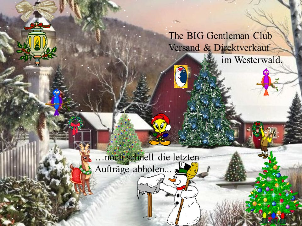 Unsere Mitarbeiter, wir und sicher auch Sie bereiten sich auf Weihnachten vor…