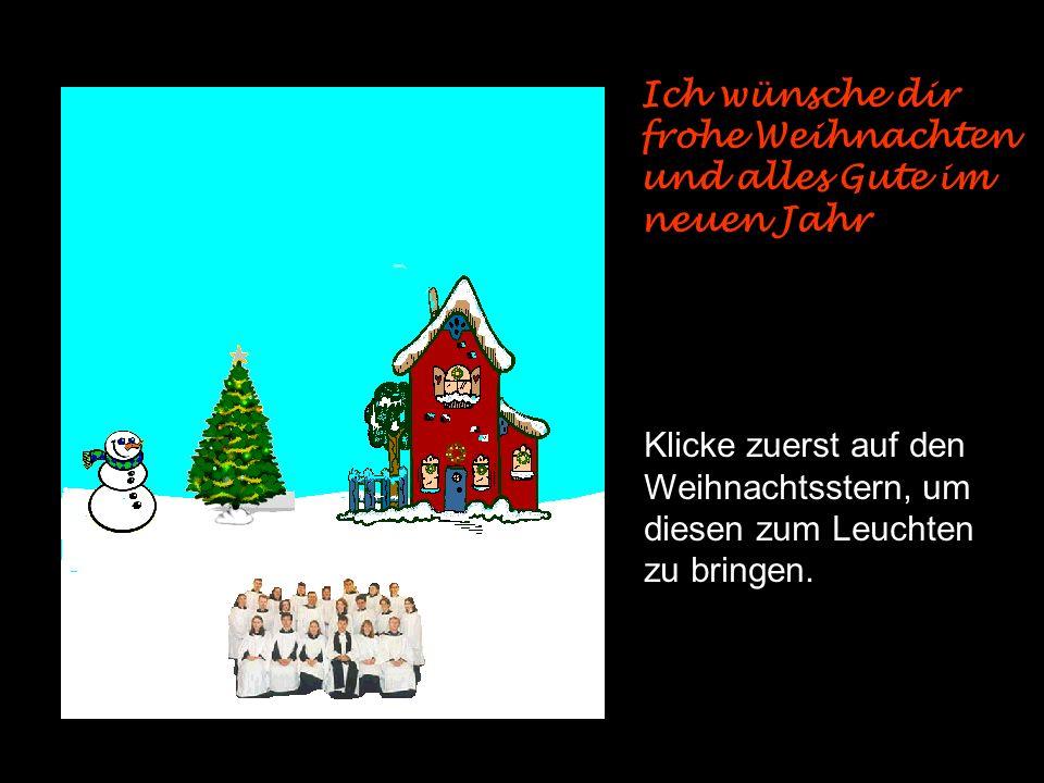 Frohe Weihnachten und ein glückliches neues Jahr !! End