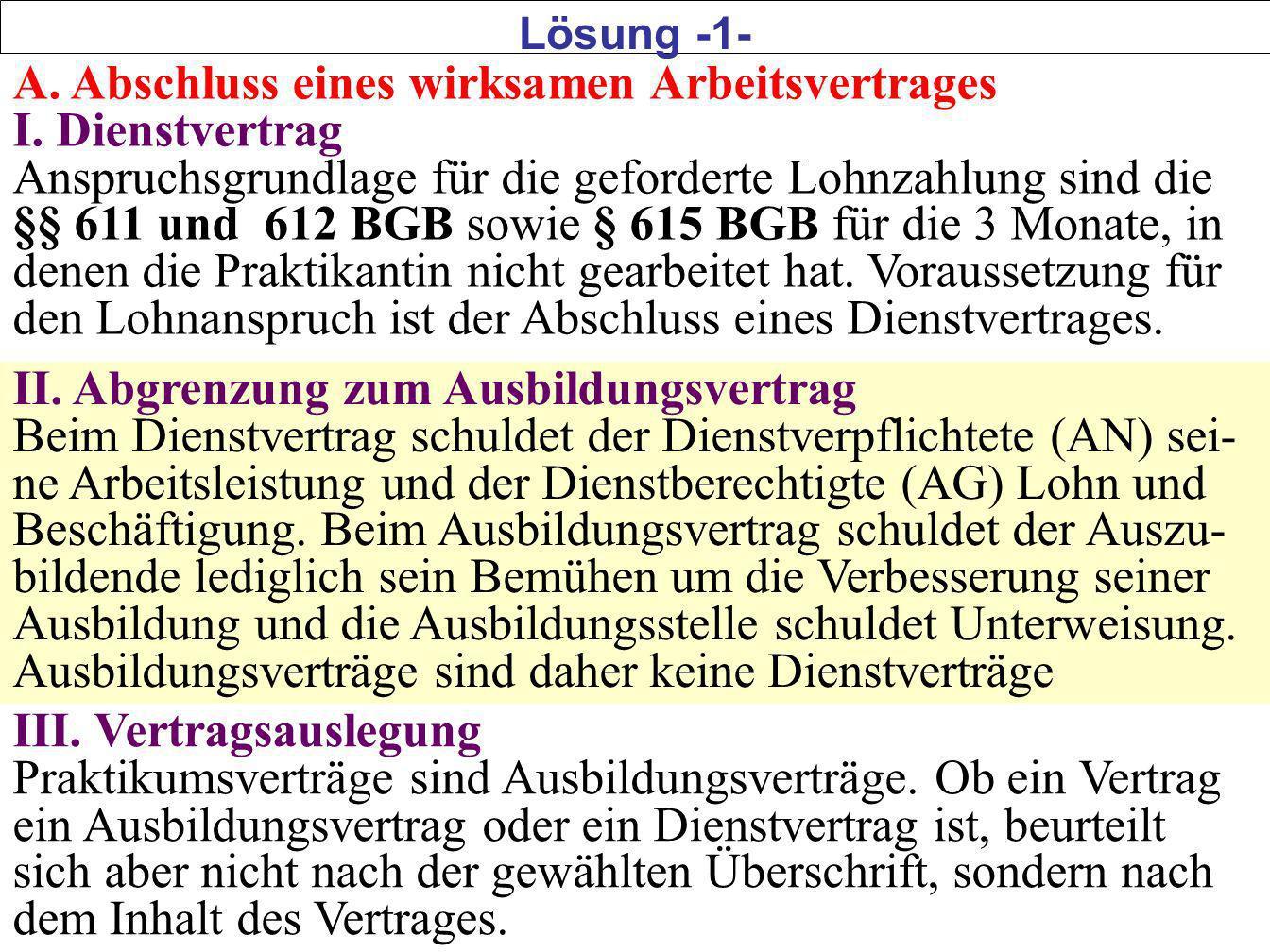 Lösungsskizze zu Betriebsrat in der Lidl-Filiale Mitarbeiter im Sinne von § 1.