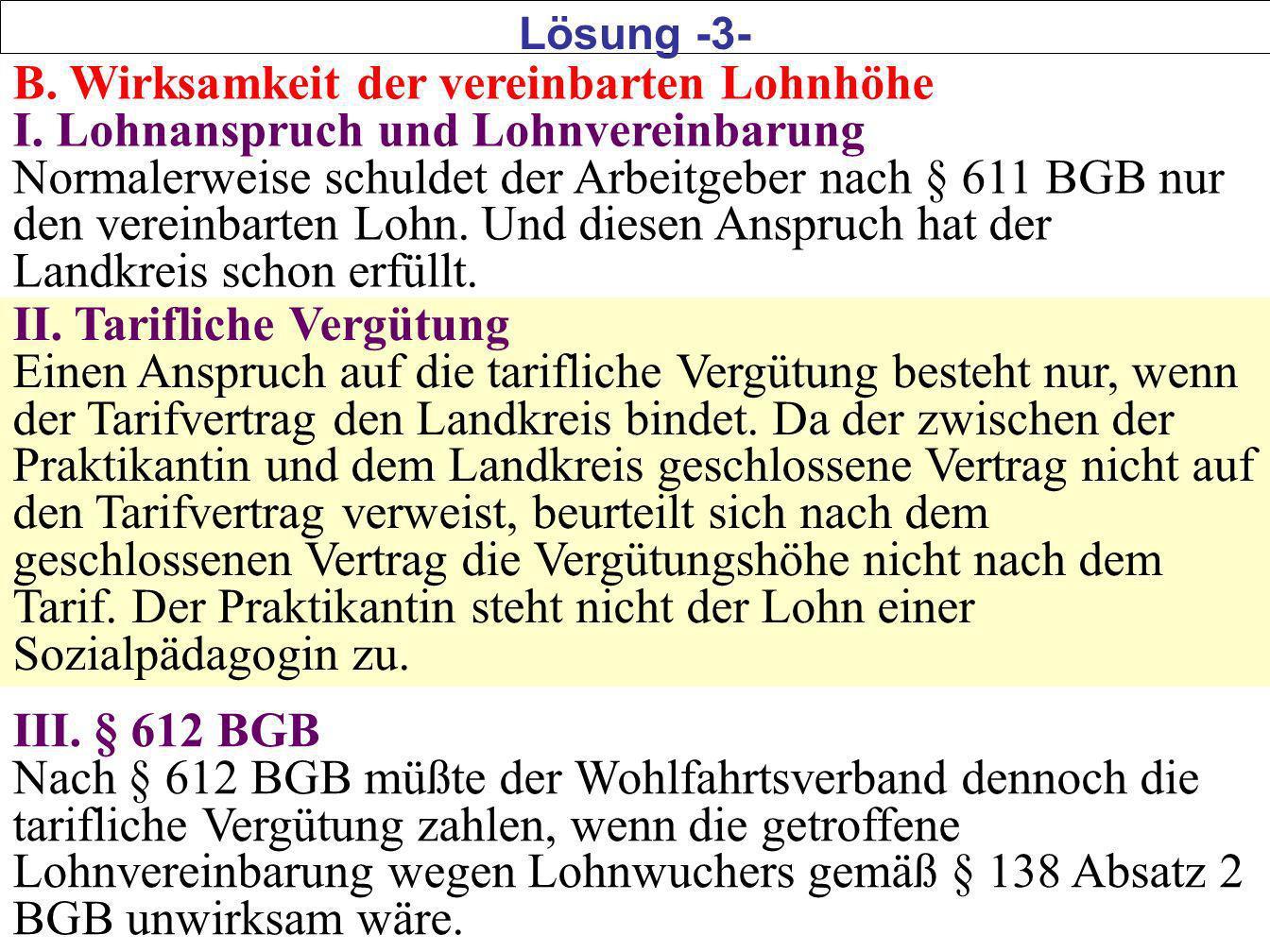 6 C.Lohnwucher I.