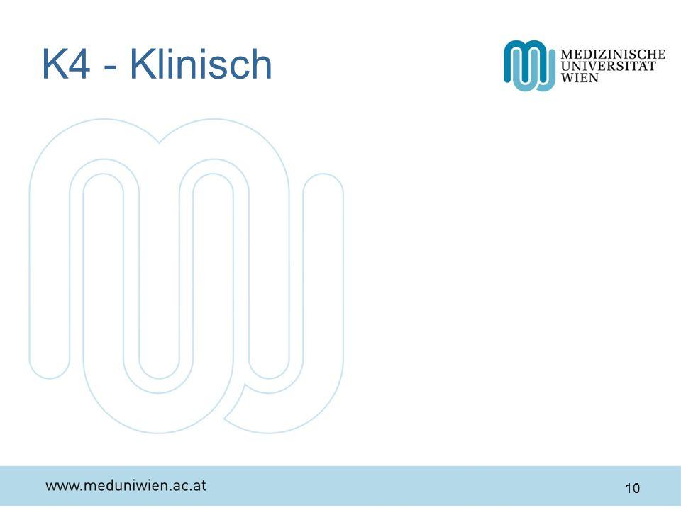 K4 - Klinisch 10