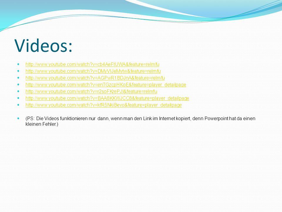 Videos: http://www.youtube.com/watch?v=cb4AeFtUWA&feature=relmfu http://www.youtube.com/watch?v=DMyVlJeMytw&feature=relmfu http://www.youtube.com/watc