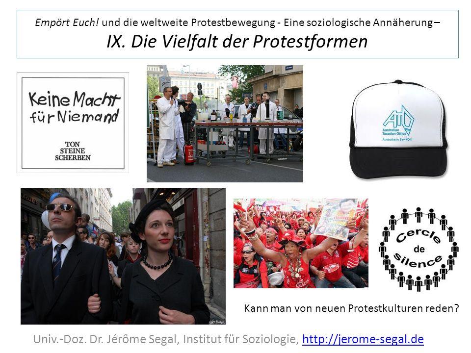 KünstlerInnen bei den Demonstrationen, das Beispiel manife de droite Video