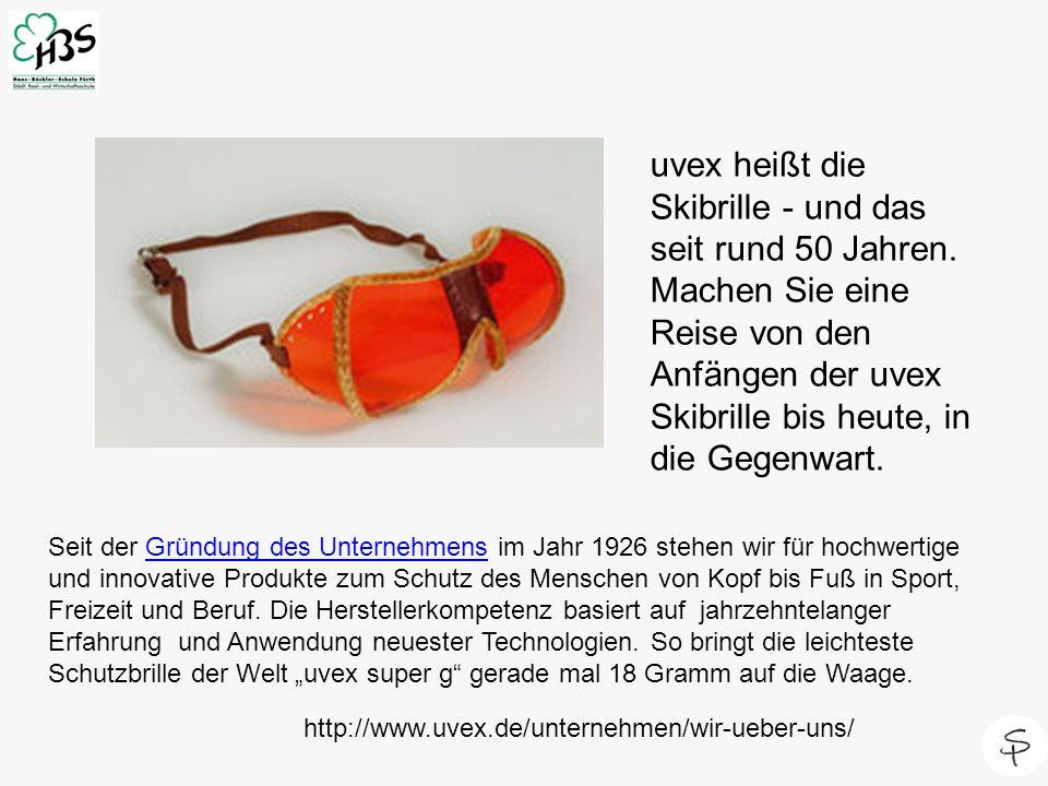uvex heißt die Skibrille - und das seit rund 50 Jahren. Machen Sie eine Reise von den Anfängen der uvex Skibrille bis heute, in die Gegenwart. Seit de