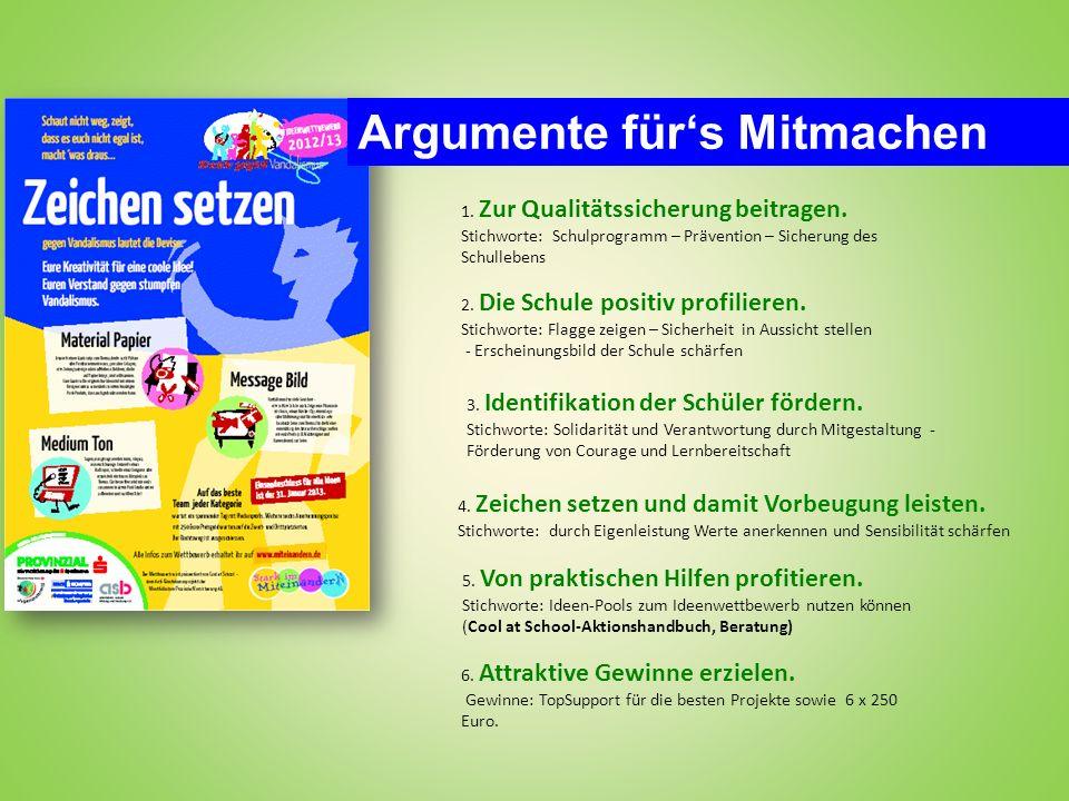 Wettbewerb 2012/13 In 2012/13 schreiben wir den Wettbewerb in drei Kategorien aus – dieses kommt unterschiedlichen Faibles und Fähigkeiten der Schüler entgegen.