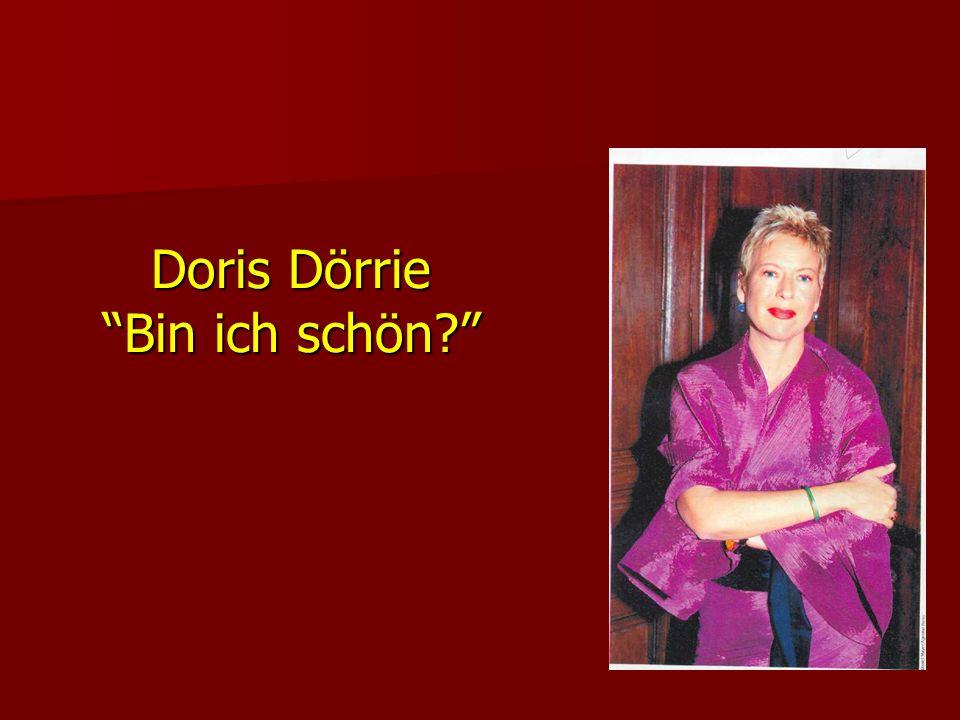 Doris Dörrie Bin ich schön?