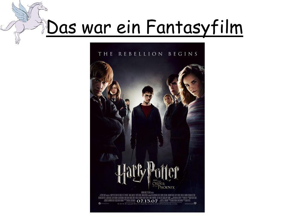 Was für eine Film war das? Das war ein/e [genre of film]