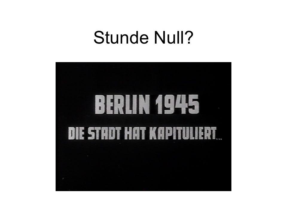 Stunde Null