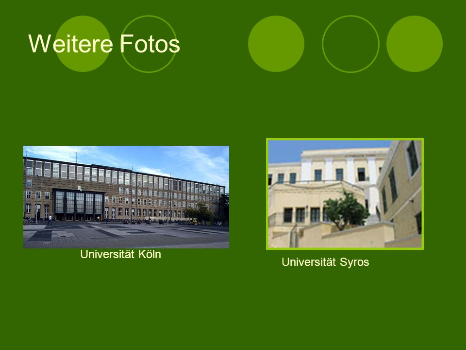 Universität HeidelbergUniversität Rhodos